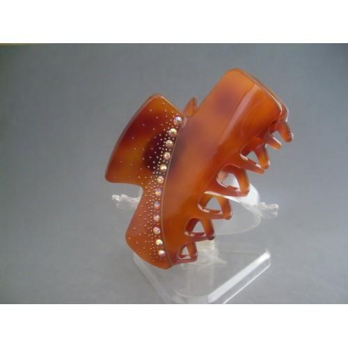Clama bijuterie caramel cu cristale