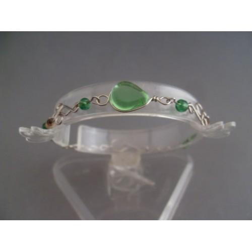 Bratara bijuterie peruviana verde