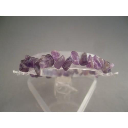 Bratara bijuterie din pietre naturale violet