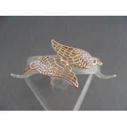 Bratara bijuterie aripi cu cristale