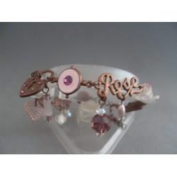 Bratara bijuterie metalica aramie din ornamente