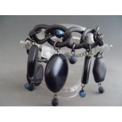 Bratara bijuterie lant cu ornamente