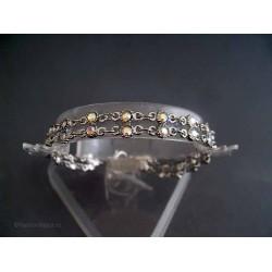 Bratara bijuterie cu cristale multicolore