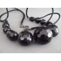 Colier bijuterie negru