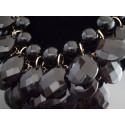 Set bijuterii cu pietre negre